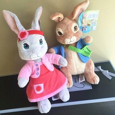 2PCS Peter Rabbit Beatrix Potter Plush Toys Collection For Kids Gifts 30CM