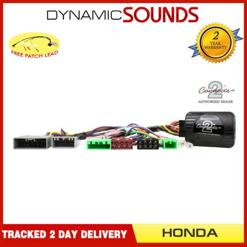 Ctsho 002 adaptador de control del volante de tallo Parche Gratis Para Honda Civic 2006 />