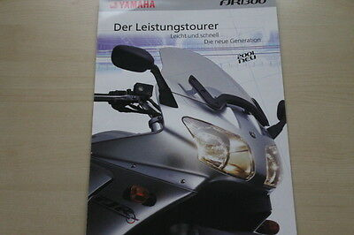 Yamaha Fjr 1300 Prospekt 2001 Sparen Sie 50-70% Automobilia Gerade 170481