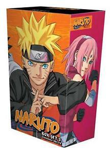 Naruto Box Set 3: Volumes 49-72 with Premium by Masashi Kishimoto (English) Pape