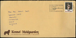 Denmark-1986-Commercial-Cover-To-England-C32728