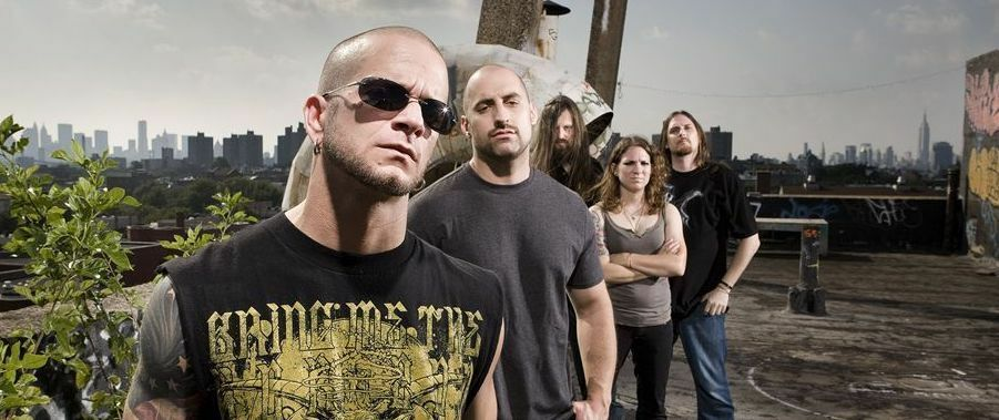 All That Remains with Upon a Burning Body and Eye On Attraction