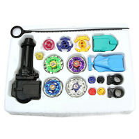 New Fusion Top Metal Master Rapidity Fight Rare Beyblade 4D w Launcher Grip Sets