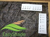 Easyshade Blk50 Sunblock Black 50% Shade Cloth Uv Resistant Fabric 12ft X 20 Ft, on sale