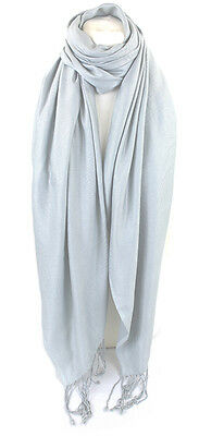 Wrap for any Occasion Exquisite Large Textured Silky Feel Shawl Scarf