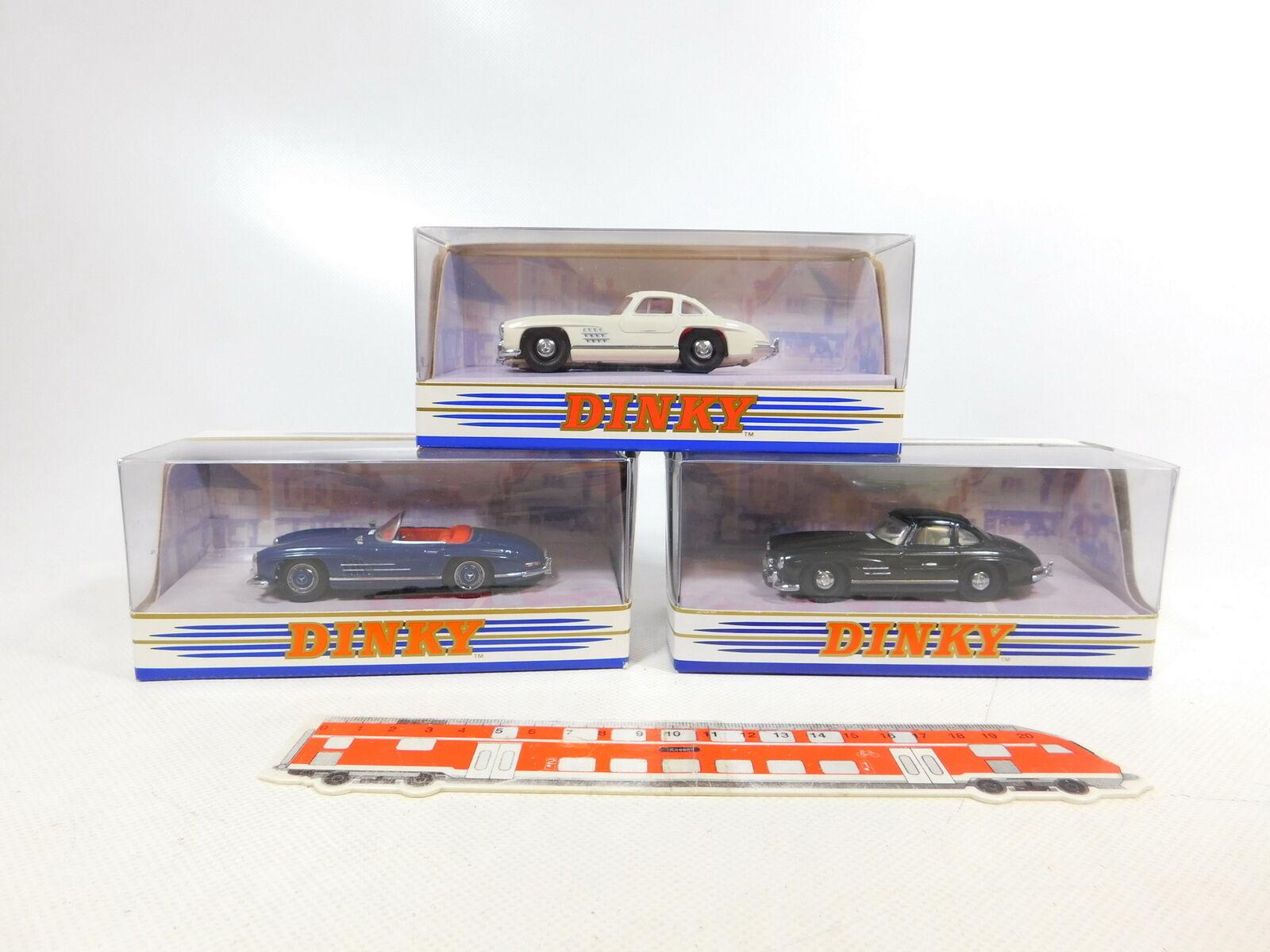 CD322-1 x Matchbox Dinky 1 43 Mercedes 300SL  DY033 a + DY-12 etc. , Mint +Box