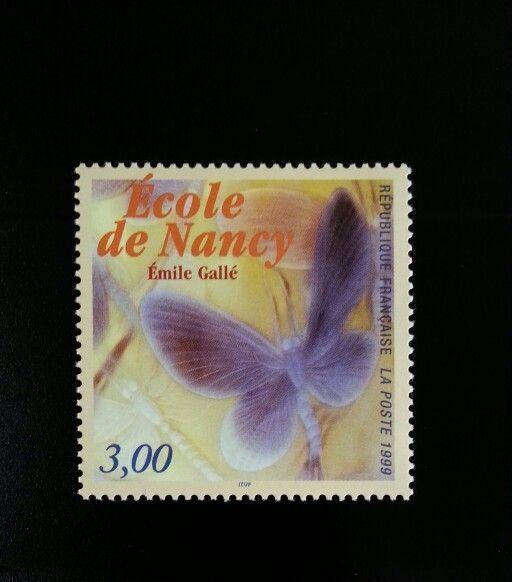 1999 France Noctuelles Dish, Emile Galle, School of Nan