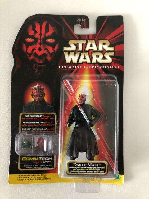 "Star Wars Episode I Darth Maul Jedi Duel 3.75"" Action Figure Hasbro 1998 New"