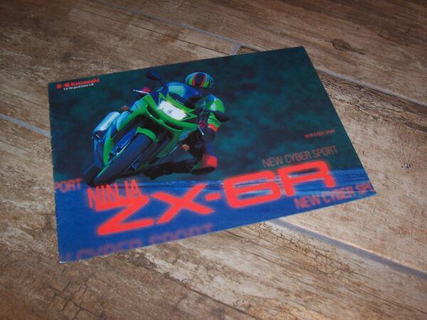 100% Kwaliteit Prospectus / Brochure Kawasaki Ninja Zx-6r 1998 // Meer Comfort Voor De Mensen In Hun Dagelijks Leven
