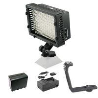 Pro 12 Led Video Light F970 For Sony Hxr Nx30 Nx3 Nx5 Nx5u Nx70u Fs700r Nxcam