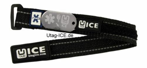 SOS EMERGENZA USB Bracciale Sport Biker CALCIO diabete epilessia Utag ICE RUNNING