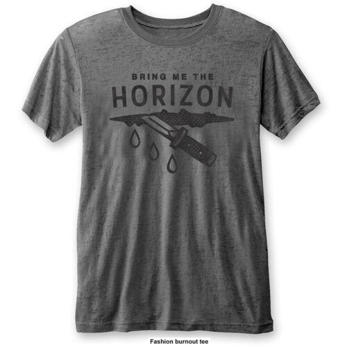 Wound Burn Out Grey Bring Me The Horizon Men/'s Fashion Tee