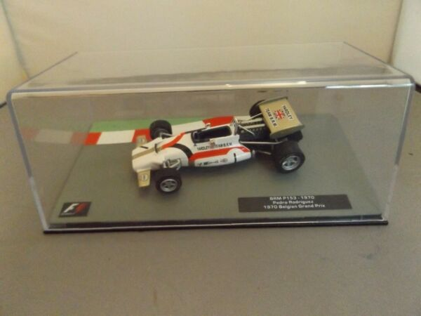 Utile 1:43 F1 Auto Collezione Modello #23 - Brm P153 - 1970-pedro Rodriguez