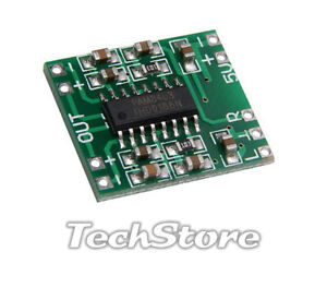 2x PAM8403 modulo Mini Amplificatore Audio Stereo Digitale 3W Digital amplifier