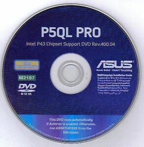 Driver for ASUS P5QL PRO Afudos