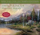 Thomas Kinkade 2016 Calendar Mountain Majesty Includes Hand-numbered Certifica