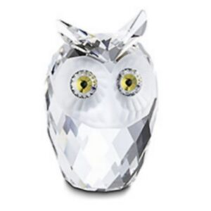 SWAROVSKI-SILVER-CRYSTAL-034-OWL-LARGE-034-010022-NEW-amp-MINT-IN-BOX-RETIRED-2009