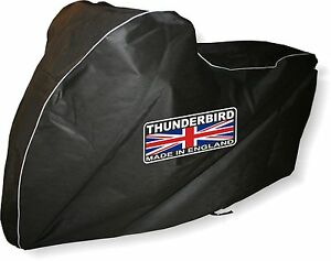 Triumph-Thunderbird-Breathable-Indoor-Motorcycle-Cover-by-039-DustOff-Covers