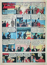 Little Orphan Annie by Gray - full tab page color Sunday comic - August 5, 1945