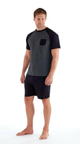"""Homme de détente short et haut 100/% Coton Jersey Pyjama /""""Adam/"""" Tailles M-XXL 238"""