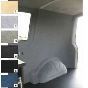 4 Way Stretch Van Camper Conversion Lining Pliable Carpet Light Grey 5m Bundle