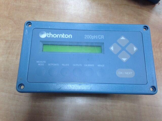 Thornton 200 pH CR Conductivity Resistivity Meter