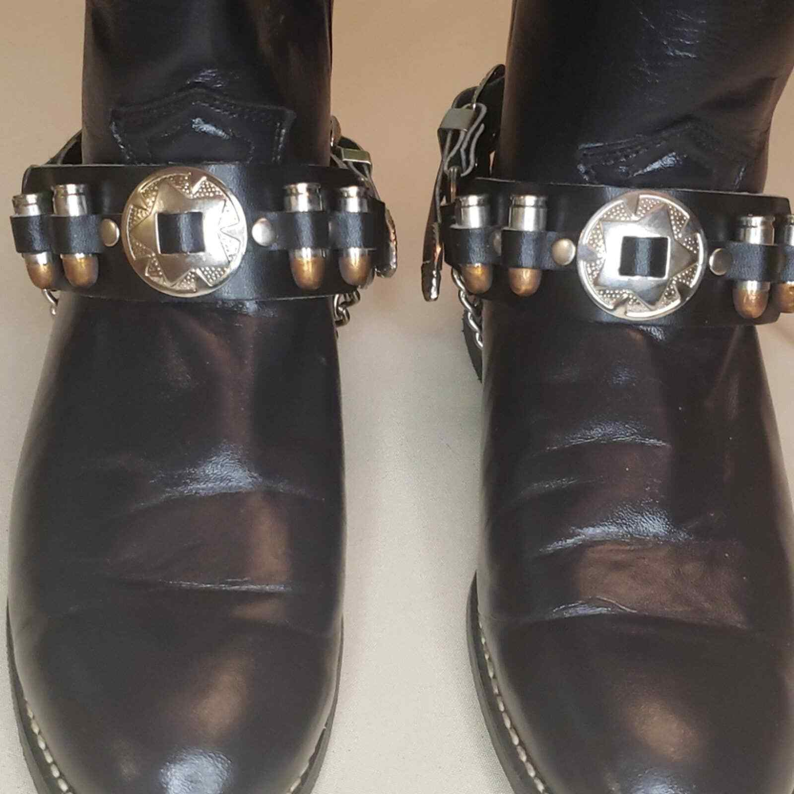 Boot straps boot chains western boots biker boots. 20