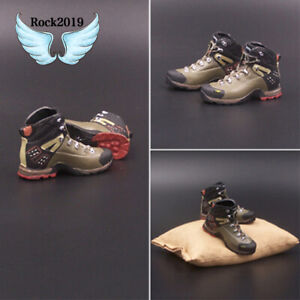 1-6-Soldier-Hiking-Boots-US-Military-Navy-Seal-Hollow-No-feet-Shoes-F12-039-039-Figure