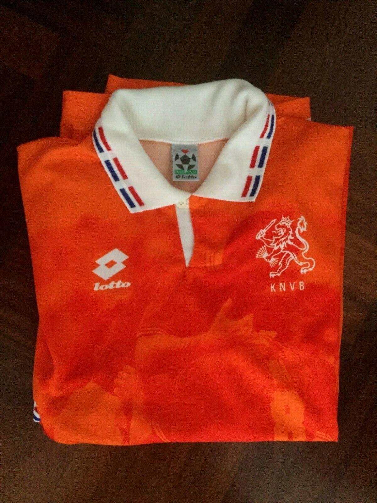 Maglia calcio lotto olanda netherland football shirt trikot vintage 1996 Dimensione XL