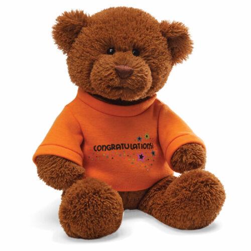 """Gund T-Shirt Bear Congratulations 12/"""""""