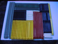 KNEX - selection of 100  K'nex  Rods