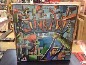 Juego De Mesa Junk Art El Arte De Reciclar Ludonova Ebay