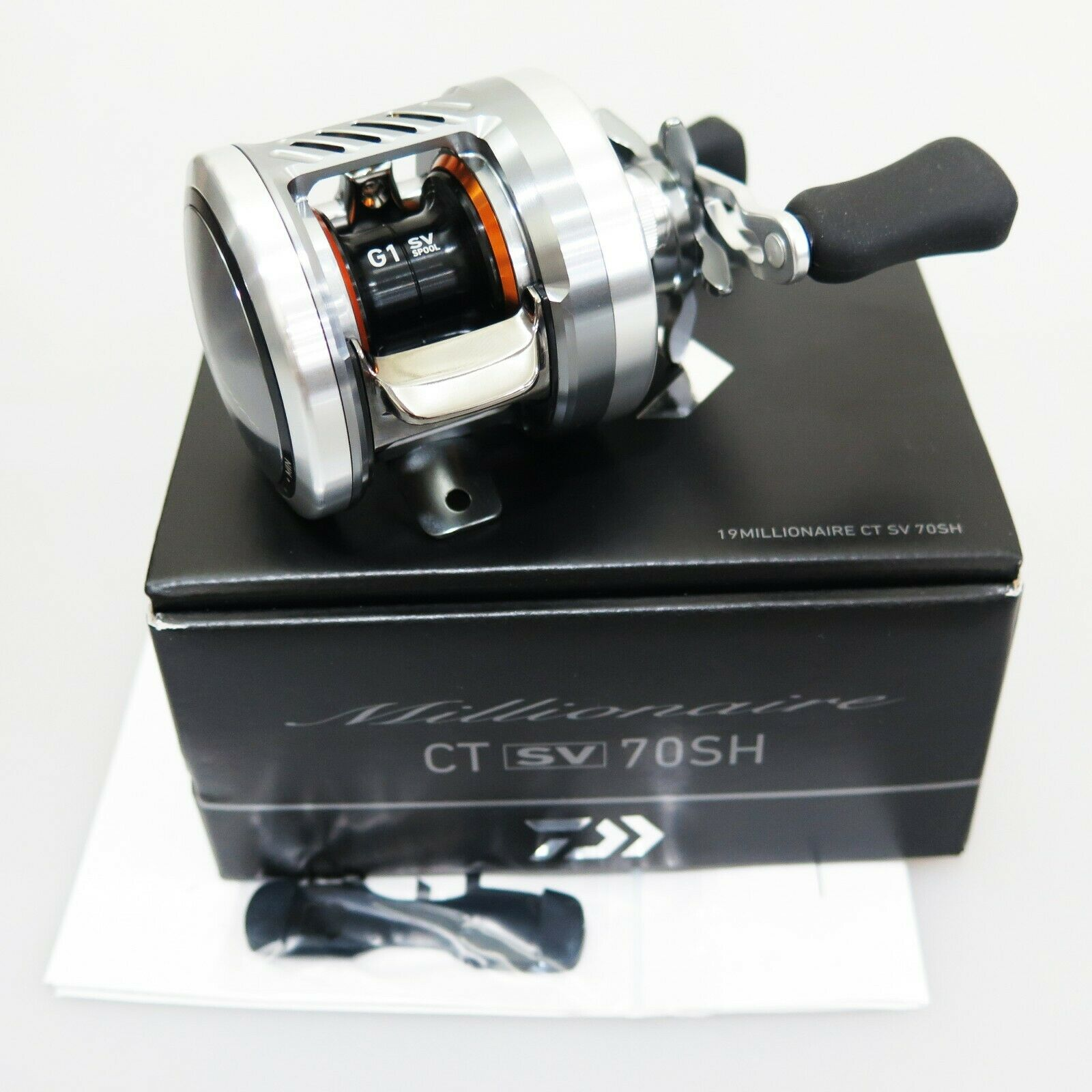 NEW 19 DAIWA MILLIONAIRE CT SV 70SH Baitcasting Reel FedEx Express 2days to US