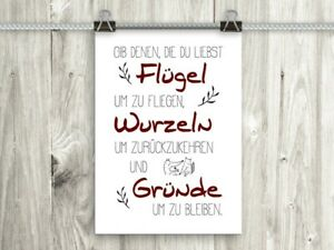 artissimo Poster mit Spruch Plakat Kunstdruck Bild Sprüche Zitat Geschenk Din A4
