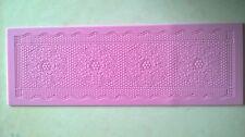 Large Lace Silicone Mould Mat ~ Cake Decorating Icing Fondant & Decorating Tools