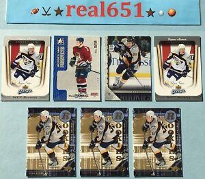 2005-RYAN-SUTER-Rookie-Lot-x-7-RC-Upper-Deck-Young-Guns-454-MVP-Wild