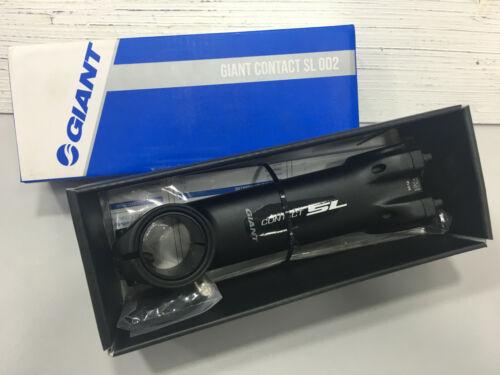 //-8 degree Aluminum Stem Black Giant Contact SL OD2 31.8x125mm