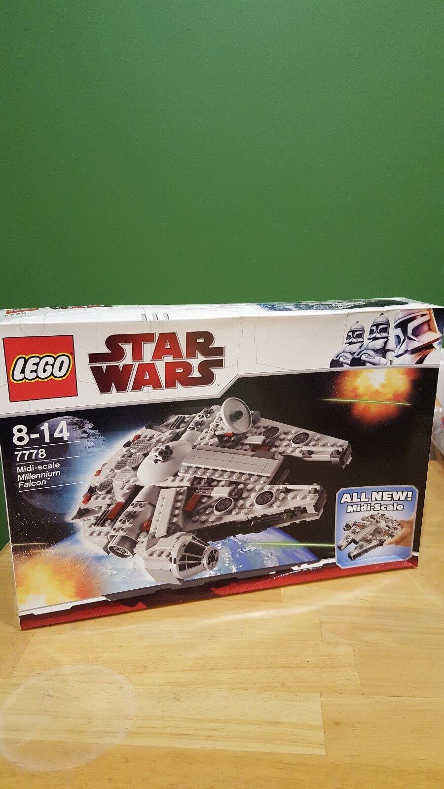 LEGO Star Wars Midi-scale Millennium Falcon (SWLGMSMF)set 7778.Very hard to find