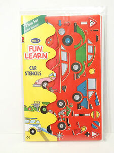 Helix-Car-Stencils-set-of-2-Fun-To-Learn-Childrens-Craft-Activities