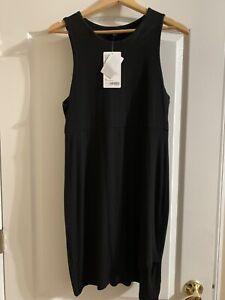 Athleta-89-La-Palma-Dress-Black-Size-M-Medium-NWT-210924
