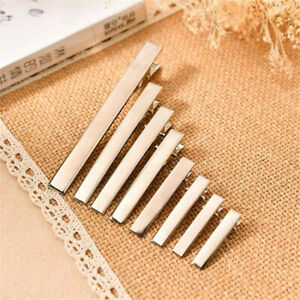 20pcs-Pack-Alloy-Metal-Silver-Color-Hair-Clips-Pins-Crocodile-Alligator-Clamp