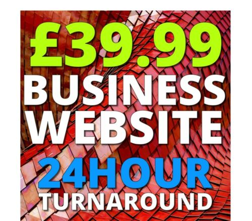 BusinessWebsite+Domain Name//12months Hosting//SEO//Emails//Security//Support//5 Pages