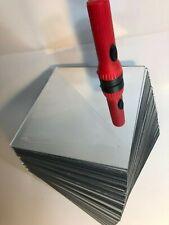 "25 PCS 1//8/"" 3MM Clear Silver Acrylic Mirror Plexiglass 10 3//16/"" X 9 5//8/"""