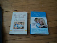 2 Autism Biographies Three Times Love Gaston Louder Than Words Jenny Mccarthy