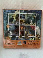 Halloween Stamps Spooky 1000 pc Jigsaw Puzzle by SUNSOUT INC