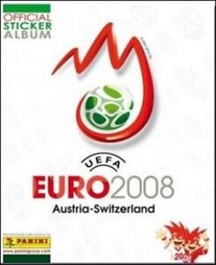 Logo/city/stage-image stickers euro soccer panini 2008 - 1 a 45 - a choose