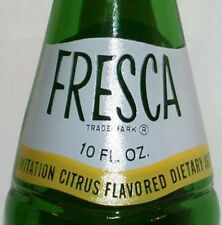Vintage Soda Pop Bottle Fresca 1967 The Coca Cola Company Old Stock N-mint