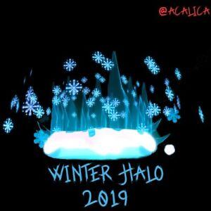 Virtual Item Winter Halo 2019 Royale High Rh Roblox Ebay