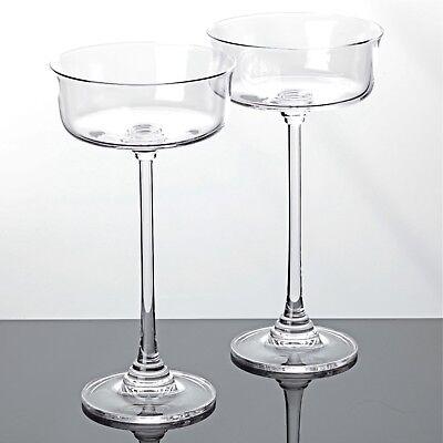 2 Sektschalen Villeroy & Boch VB Lilian Bleikristall Gläser Sektgläser
