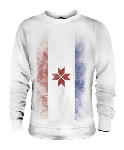 MORDOVIA FADED FLAG UNISEX SWEATER TOP FOOTBALL GIFT SHIRT CLOTHING JERSEY